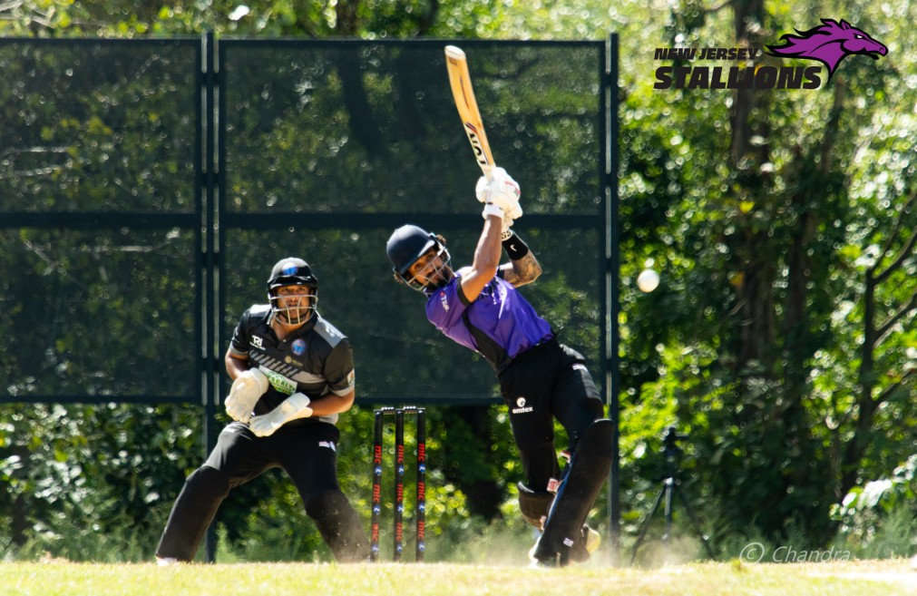 From one of the Minor League Cricket Exhibition matches 2020